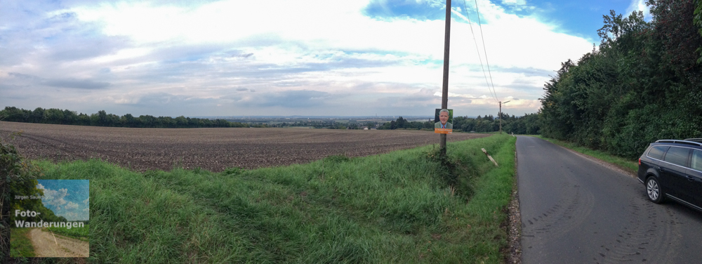 Panorama Richtung Wesseling