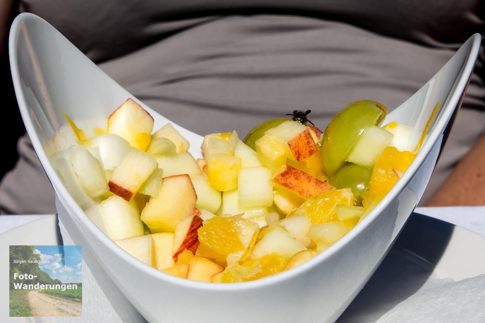 Der Nachtisch: Obstsalat